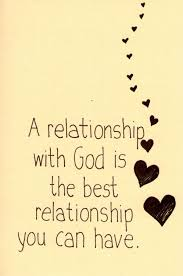 Image result for relationship with god