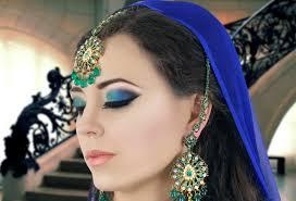 green and blue smokey eye makeup tutorial asian indian bridal asian bridal looks