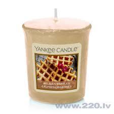 Yankee Candle <b>ароматическая свеча Belgian Waffles</b>, 49 г цена ...
