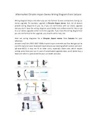 aftermarket chrysler aspen stereo wiring diagram from seicane aftermarket chrysler aspen stereo wiring diagram from seicane wiring diagram helps a lot when you are
