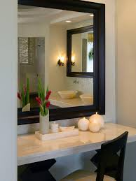 bathroom vanity mirror ideas modest classy: high elegant vanity mirror  bathroom elegant vanity mirror decorated with flower bouquet and candle lights makeup in elegant vanity mirrors with extraordinary feel