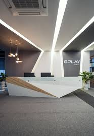 how would you like to walk in to this at the office each day triadcreativegroup best office reception areas