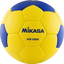 <b>Мяч гандбольный Mikasa HB</b> 1000, синий, желтый, размер 1
