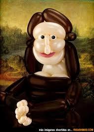 La Mona Lisa versión Airigami - La-Mona-Lisa-version-Airigami