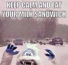 I want The Weather Channel to send the abominable snowman to ... via Relatably.com
