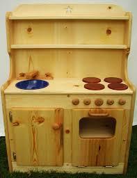 children wooden kitchen pretend