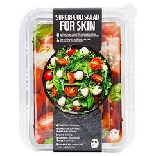 <b>Superfood Salad</b> Facial Sheet Mask For <b>Skin</b> - Tomato by Farm <b>Skin</b> ...