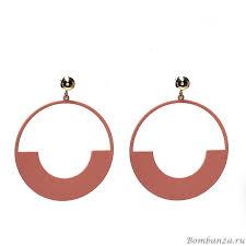 <b>Серьги Moon Paris</b> Del mare MoD-1901-014_6473 ярко-розовый ...
