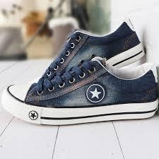 Fashion Sneakers <b>Women</b> Canvas <b>Shoes</b> Ladies <b>Summer</b> Denim ...
