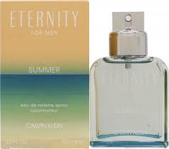 Calvin Klein <b>Eternity for Men Summer</b> 2019 Eau de Toilette 100ml ...