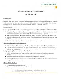 sample resume underwriting assistant resume objective exles mortgage closer resume examples to inspire you eager world mortgage underwriter resume mortgage underwriter mortgage underwriter
