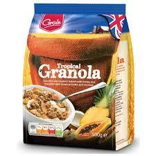 Характеристики модели <b>Гранола Grain Тропическая</b> смесь, пакет ...