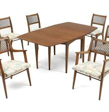 seven piece dining set: drexel profile john van koert seven piece dining set