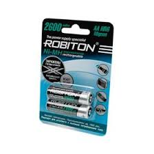"<b>Аккумулятор AA</b> ""<b>Robiton</b>"" 2600 mAh 1.2v"