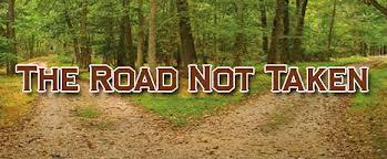 Image result for the road not taken