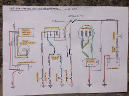 bsa b44 wiring diagram bsa diy wiring diagrams b25 b44 wiring b50 org