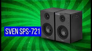 Обзор стереопары <b>Sven SPS</b>-<b>721</b> с поддержкой флешек USB и ...