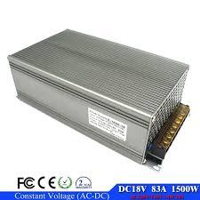 <b>regulated</b> switching power supply 18V <b>1500W Ac</b>-<b>Dc</b> Converter 83A ...