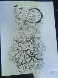 Tattoo on Pinterest   Fight Club, Tat and Wave Tattoos