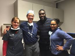 lasik surgery testimonials nj lasik specialist dr hersh new it was a great day at the office meeting demario davis linebacker for the new york jets