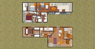 Shipping Container Floor Plans   Best Home Interior and    Shipping Container Cabin Floor Plans