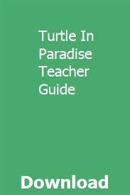 Turtle In Paradise Teacher Guide | Repair manuals, Installation ...