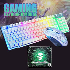 <b>Fashionable</b> New T6 Gaming Backlit <b>Mechanical Keyboard</b>+Mouse ...