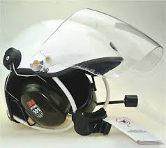 EN966 Certificated <b>Noise cancel paramotor</b> helmet 3M headset 4 ...