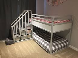 ikea kura bed hack trofast stairs bunk bed beautiful ikea closets convention perth contemporary bedroom
