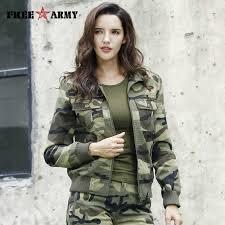 Brand New Spring Army <b>Camouflage</b> Pants Women Slim Pants ...