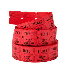 red tickets clipart clipart kid carnival king red 2 part raffle tickets 2000 roll