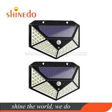 <b>100 LED Solar</b> Sensor <b>Lamp</b>