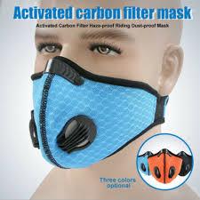 Outdoor Breathing Valve <b>PM2</b>.<b>5 Mask</b> Anti-Virus <b>Activated Carbon</b> ...