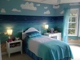 beach themed bedroom bedrooms blue