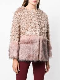 <b>L</b>'<b>Autre Chose</b> faux fur panelled <b>jacket</b> | Fur | Fur, Faux fur, Jackets