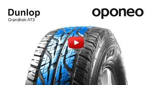 Tyre <b>Dunlop Grandtrek</b> AT3 Summer Tyres Oponeo™ - YouTube