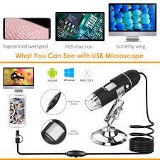 USB <b>Microscope</b>, Splaks 1000x High Power - Buy Online in ...