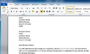 job resignation letter sample template otrbzje resign letter word    employeee s resignation template for word employee s resignation template for word   resign letter word