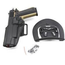 Left / Right Hand Quick Draw Pistol Belt Holster Duty For Colt 1911 ...