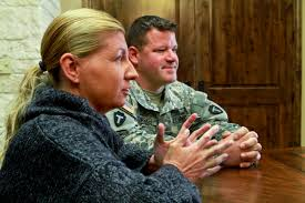 u s department of defense photo essay catrina tomsich and her husband army sgt john tomsich talk about the emotional