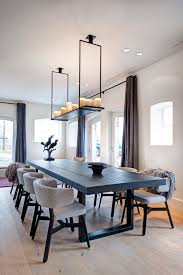 house twente scandinavian dining room idea in amsterdam with white walls and light hardwood floors beautiful funky dining room lights