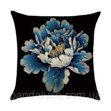 <b>Подушка</b> декоративная для дивана Большой Пион <b>45 х 45 см</b> ...