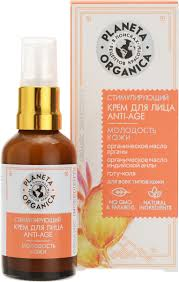 Planeta Organica <b>Крем для</b> лица anti-age для всех видов кожи, 50 ...