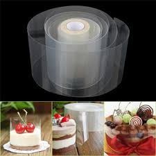 <b>10M Clear Mousse</b> Dessert Surrounding Edge Wrap Tape <b>Cake</b> ...