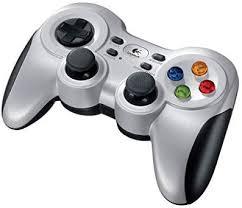 Logitech G F710 Wireless Gamepad (<b>Silver and Black</b>)