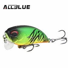 ALLBLUE Floating Shallow Diving <b>Crankbait</b> Fishing Lures 8.1g ...