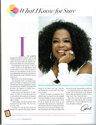 oprah winfrey to release book of what i know for sure columns oprah winfrey