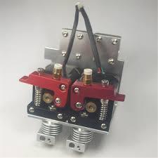 Funssor 1.75 мм reprap 3d принтер металла <b>двойной экструдер</b> ...