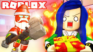 DON'T GET CAUGHT BY <b>EVIL SANTA</b>! ROBLOX FLEE THE FACILITY!
