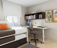 space saving bedroom ideas with double beds plus additional storage and swivel chairs adorned with bedroom idea furniture small